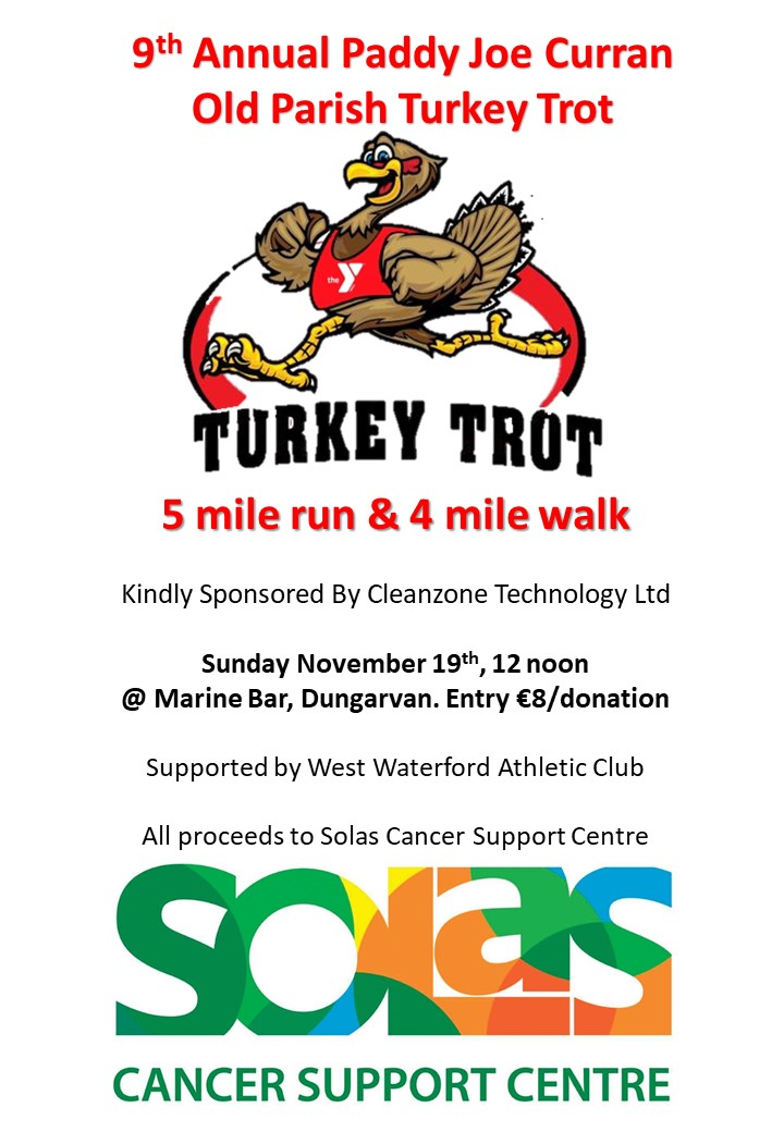 Turkey Trot Poster 2017