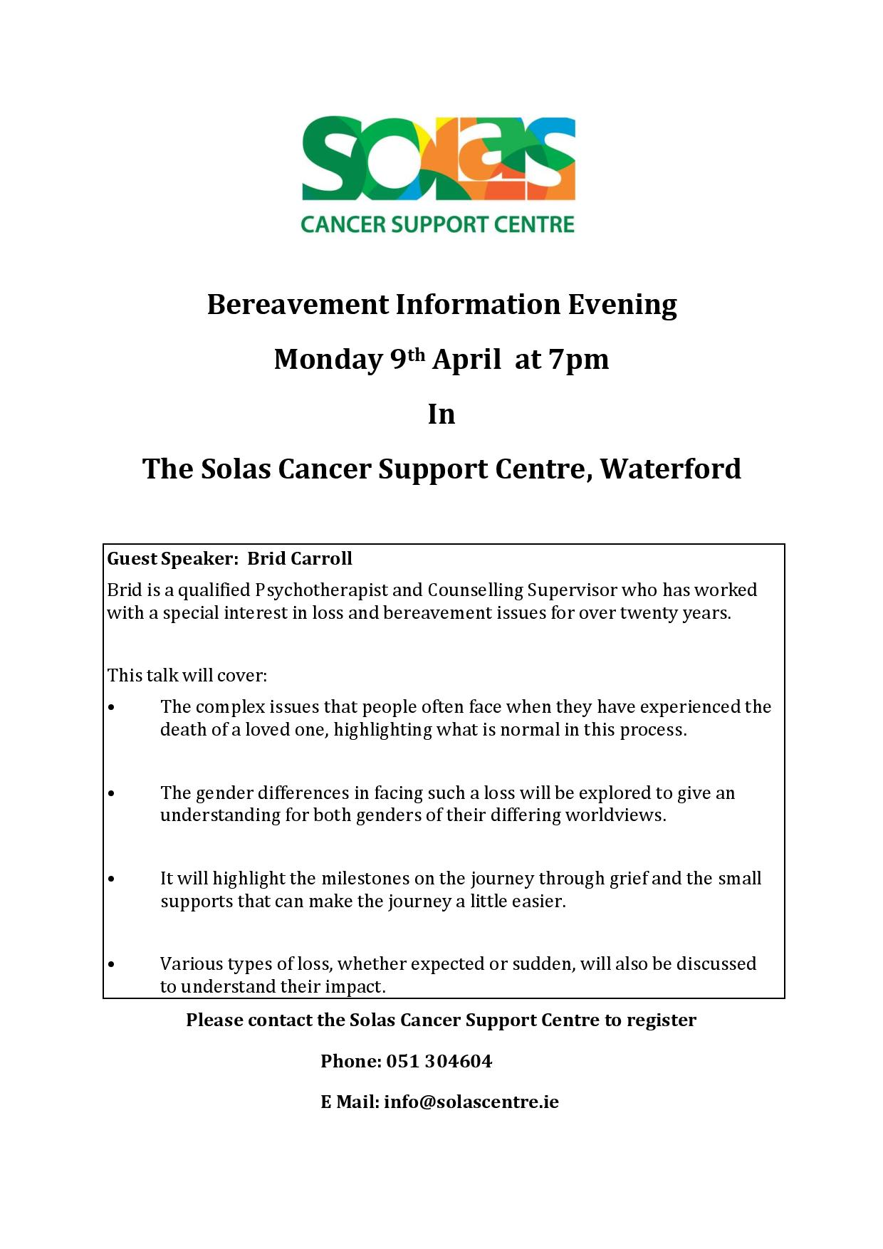 Bereavement Information Evening - 9th April 2018.docx - updated-page-001