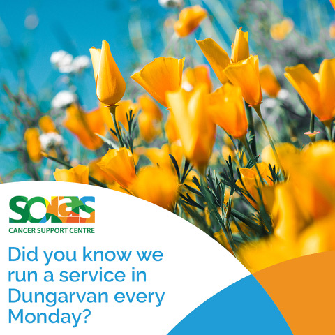 Did you know we run a service in Dungarvan every Monday_