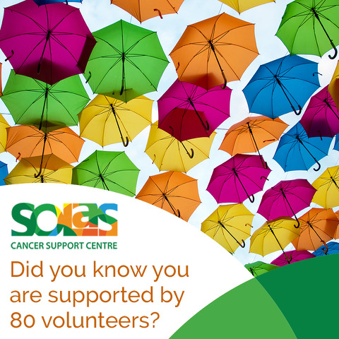 Did you know youare supported by 80 amazing Volunteers Image